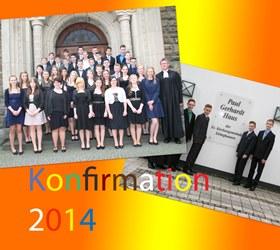 Konfirmation 2014