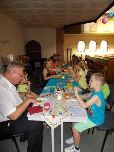 Nacht der offenen Kirche 2014 - Pizza essen2x