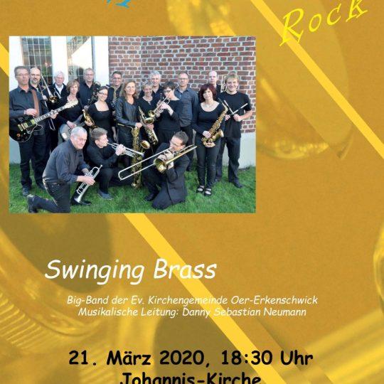 21.03.2020 - Swinging Brass (leider abgesagt)