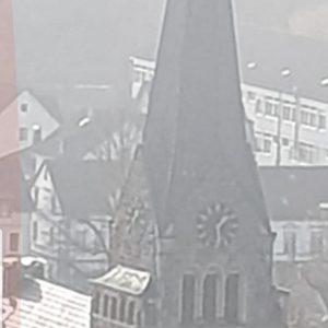 Kirchenuhr defekt