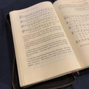 Neues Gesangbuch in Arbeit